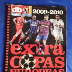 Coleccionismo deportivo: DON BALON NÚM 119 EXTRA COPAS EUROPEAS 2009 - 2010. Lote 210811910