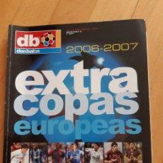 Coleccionismo deportivo: DON BALÓN EXTRA. COPAS DE EUROPA 2006-2007. Lote 210833946