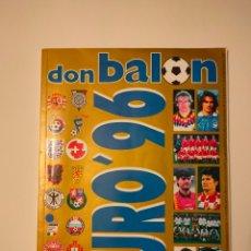 Coleccionismo deportivo: DON BALON - EXTRA N°32 - EUROCOPA 96. Lote 211454947
