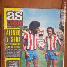 Coleccionismo deportivo: REVISTA FÚTBOL AS COLOR N 219 PÓSTER DE THEVENET. Lote 211833701