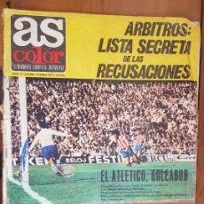 Coleccionismo deportivo: REVISTA FÚTBOL AS COLOR N 4 DE 1971 GURUCETA. Lote 211834380