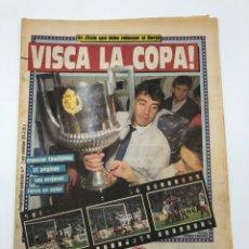 Colecionismo desportivo: DIARIO SPORT ESPECIAL FINAL COPA DEL REY 1988 FC BARCELONA REAL SOCIEDAD BARÇA CAMPEON 2 ABRIL. Lote 211986846
