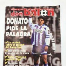 Coleccionismo deportivo: DON BALON NÚMERO 1007 POSTER SPORTING GIJON 1995 DONATO COMPOSTELA VER SUMARIO.. Lote 211988218