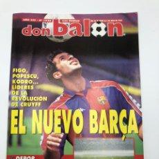 Coleccionismo deportivo: REVISTA DON BALON FINAL COPA DEL REY 1995 VALENCIA CF DEPORTIVO DEPOR CORUÑA VER SUMARIO.. Lote 212016202