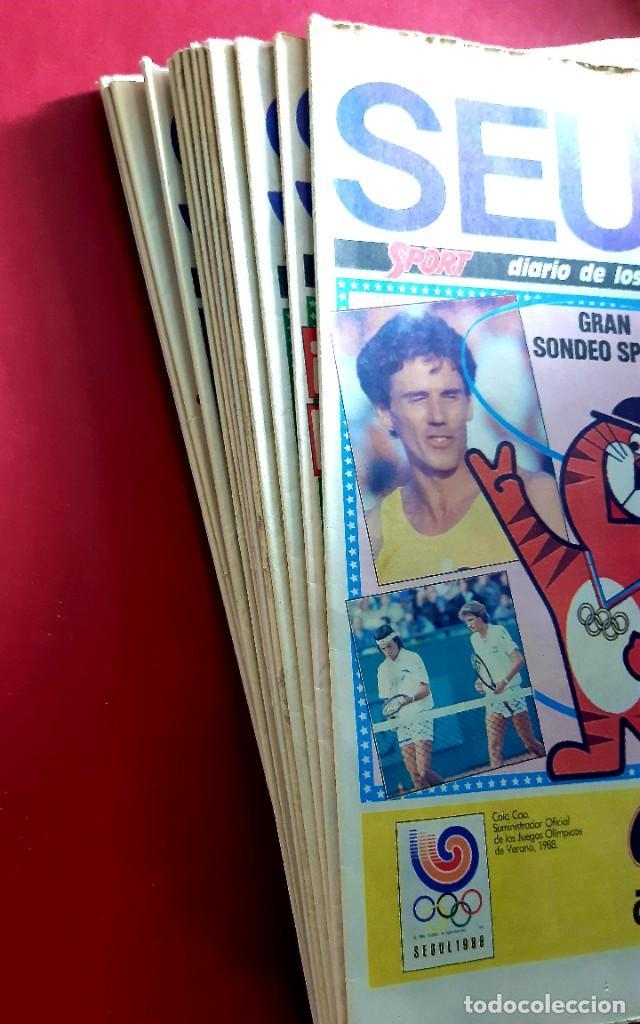 SPORT DIARIO DE LOS JUEGOS OLIMPICOS SEÚL 88 13 EJEMPLARES (Coleccionismo Deportivo - Revistas y Periódicos - Sport)