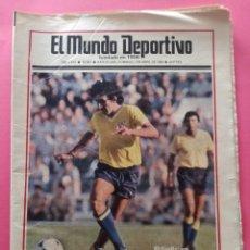 Coleccionismo deportivo: DIARIO EL MUNDO DEPORTIVO 1984 - BARÇA CADIZ LIGA 83/84 - MAGICO GONZALEZ - CASTEL - NEESKENS. Lote 212682950