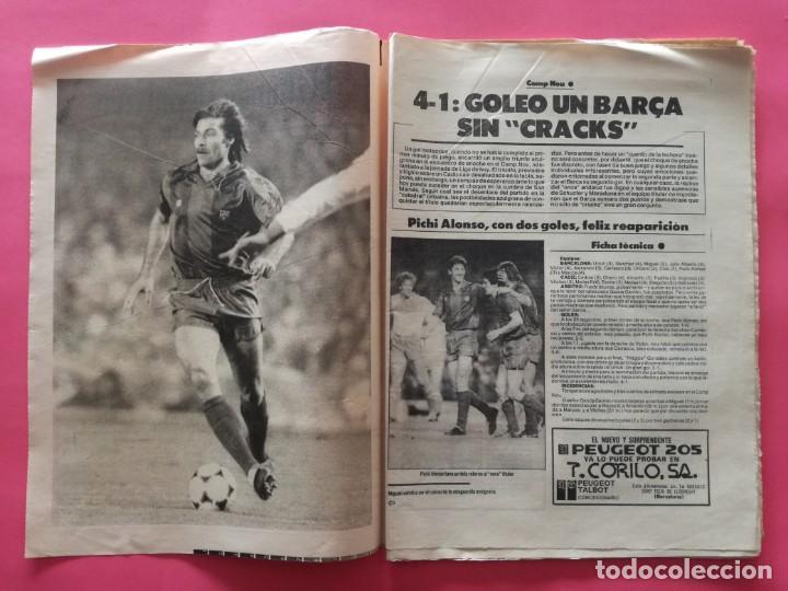 Coleccionismo deportivo: DIARIO EL MUNDO DEPORTIVO 1984 - BARÇA CADIZ LIGA 83/84 - MAGICO GONZALEZ - CASTEL - NEESKENS - Foto 2 - 212682950