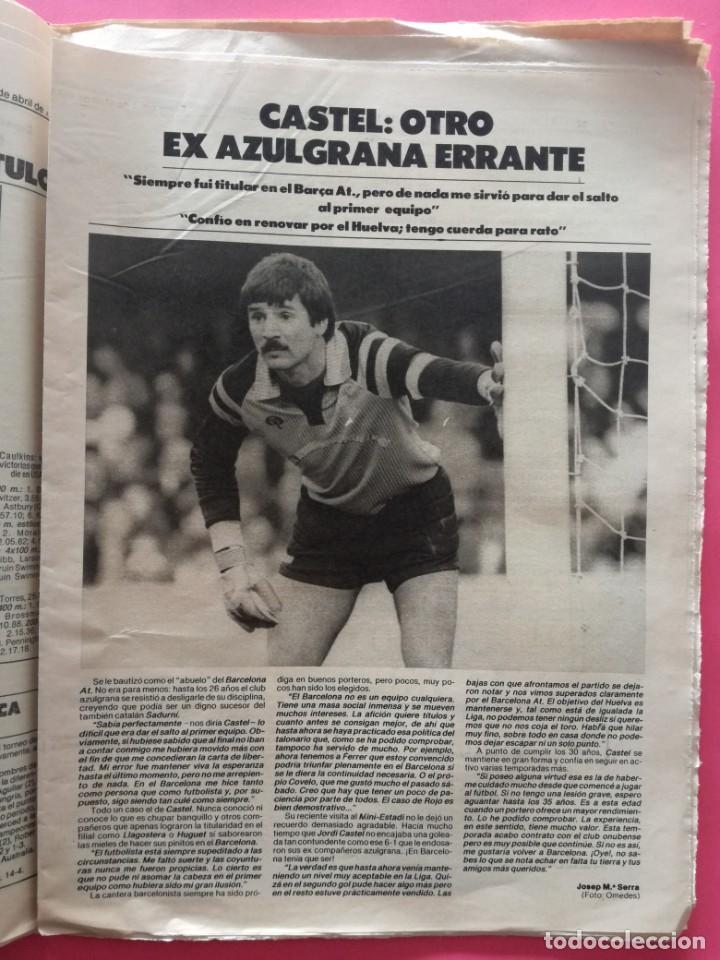 Coleccionismo deportivo: DIARIO EL MUNDO DEPORTIVO 1984 - BARÇA CADIZ LIGA 83/84 - MAGICO GONZALEZ - CASTEL - NEESKENS - Foto 4 - 212682950