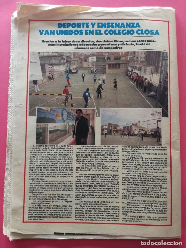 Coleccionismo deportivo: DIARIO EL MUNDO DEPORTIVO 1984 - BARÇA CADIZ LIGA 83/84 - MAGICO GONZALEZ - CASTEL - NEESKENS - Foto 6 - 212682950