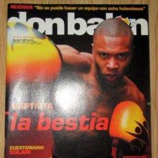 Coleccionismo deportivo: DON BALON 1490 : POSTER YESTE ATHLETIC BILBAO -BAPTISTA LA BESTIA - VILLARREAL VALENCIA -PANDIANI -. Lote 212704066