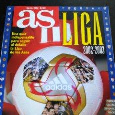 Coleccionismo deportivo: GUÍA AS LIGA 2002. Lote 212838947