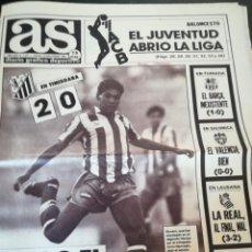 Collectionnisme sportif: DIARIO AS AÑO 1990. Lote 212839075