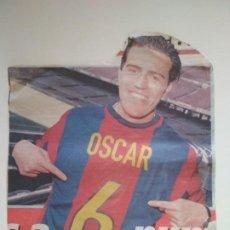 Coleccionismo deportivo: FOTO RECORTE OSCAR GARCÍA JUNYENT - FC BARCELONA - JUGADOR DEL BARÇA DE SABADELL MUNDO DEPORTIVO. Lote 212866162