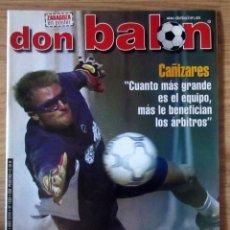 Collectionnisme sportif: REVISTA DON BALON - ABRIL - 2001 - Nº 1330 - CON POSTER DEL REAL ZARAGOZA - 2001-02. Lote 212992232