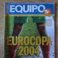 Coleccionismo deportivo: EQUIPO SPORT GUÍA DE LA EUROCOPA FUTBOL DE PORTUGAL 2004. Lote 212993152
