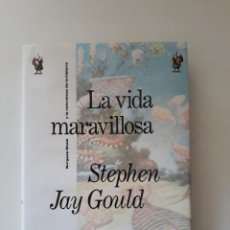 Collectionnisme sportif: LA VIDA MARAVILLOSA. STEPHEN JAY GOULD. EDITORIAL CRÍTICA DRAKONTOS. 1ª EDICIÓN. BARCELONA, 1991.. Lote 213020325