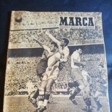Coleccionismo deportivo: MARCA. SEMANARIO GRAFICO DE LOS DEPORTES. Nº 641. AÑO XVI. 1955. LA COPA TERRY DE VALENCIA. LEER.. Lote 213025995