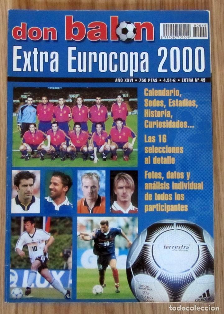EXTRA DON BALON EUROCOPA 2000 REVISTA ESPECIAL EURO HOLANDA BELGICA UEFA CUP (Coleccionismo Deportivo - Revistas y Periódicos - Don Balón)