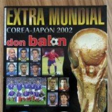 Coleccionismo deportivo: DON BALÓN EXTRA MUNDIAL COREA - JAPON 2002 - EXTRA N° 58 FIFA WORLD CUP MAGAZINE FOOTBALL. Lote 213077280