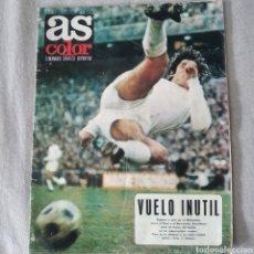 Coleccionismo deportivo: AS COLOR Nº 28 CON POSTER DEL CD CASTELLÓN (30 DE NOVIEMBRE DE 1971). Lote 213455626