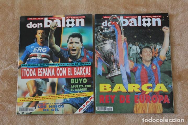 REVISTA DON BALÓN.Nº 864 Y 865 CAMPEÓN BARCELONA. PRIMERA COPA DE EUROPA. CHAMPIONS LEAGUE (1992) (Coleccionismo Deportivo - Revistas y Periódicos - Don Balón)