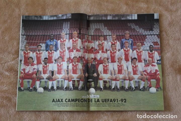 Coleccionismo deportivo: REVISTA DON BALÓN.Nº 864 y 865 CAMPEÓN BARCELONA. PRIMERA COPA DE EUROPA. CHAMPIONS LEAGUE (1992) - Foto 3 - 174294394