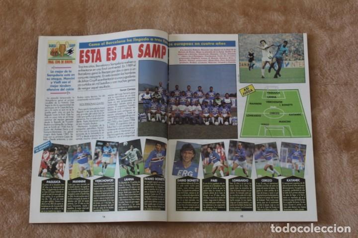 Coleccionismo deportivo: REVISTA DON BALÓN.Nº 864 y 865 CAMPEÓN BARCELONA. PRIMERA COPA DE EUROPA. CHAMPIONS LEAGUE (1992) - Foto 4 - 174294394
