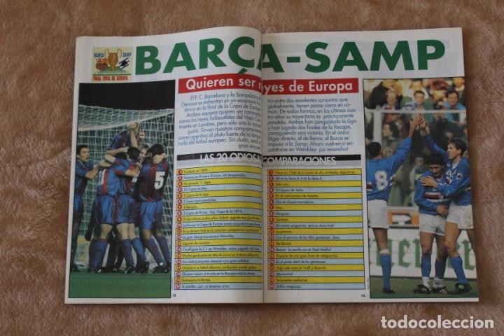 Coleccionismo deportivo: REVISTA DON BALÓN.Nº 864 y 865 CAMPEÓN BARCELONA. PRIMERA COPA DE EUROPA. CHAMPIONS LEAGUE (1992) - Foto 5 - 174294394