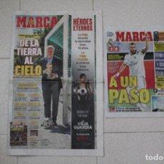 Coleccionismo deportivo: DIARIO MARCA 11/07/2020 DÉCIMO ANIVERSARIO ESPAÑA CAMPEÓN DEL MUNDO 2010. FÚTBOL. Lote 213550455