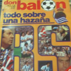 Collectionnisme sportif: REVISTA DON BALON AÑO VII N° 291 DEL 5 AL 12 MAYO DE 1981. Lote 213558536