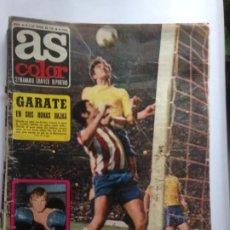 Coleccionismo deportivo: DIARIO AS COLOR Nº55 6 JUNIO 1972 GARATE - BLIN - BAREK - DI STEFANO . POSTER CADIZ CLUB DE FUTBOL. Lote 213584435