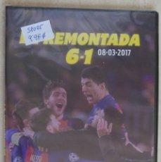 Coleccionismo deportivo: DVD FC BARCELONA. LA REMONTADA 6-1. 08/03/2017. Lote 213641293