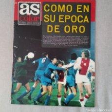 Collectionnisme sportif: AS COLOR Nº 100 CON POSTER DEL ATLÉTICO DE MADRID (17 DE ABRIL DE 1972). Lote 213775892