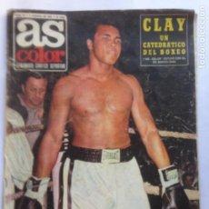 Coleccionismo deportivo: DIARIO AS COLOR Nº64 CLAY MUHAMMAD ALI - PACO GENTO- IRAN EORY - ESQUÍ SIN NIEVE. Lote 213828462