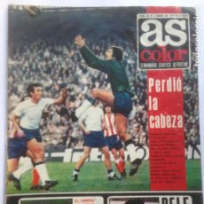 Coleccionismo deportivo: DIARIO AS COLOR Nº85 3ENE 1973 -PELÉ- BERNABEU- EL DINERO DEL TENIS- POSTER NASTASE- MULLER-UZCUDUN. Lote 213828652