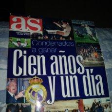 Coleccionismo deportivo: REVISTA REAL MADRID - CONDENADOS A GANAR. CIEN AÑOS Y UN DIA. Lote 213937677