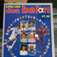 Coleccionismo deportivo: EXTRA LIGA DON BALON 1997/1998. Lote 213975037