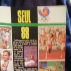 Coleccionismo deportivo: EXTRA DON BALON SEÚL 1988. JUEGO OLÍMPICOS.. Lote 214019742