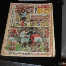 Coleccionismo deportivo: DON BALON EXTRA LIGA 81-82. Lote 214031060