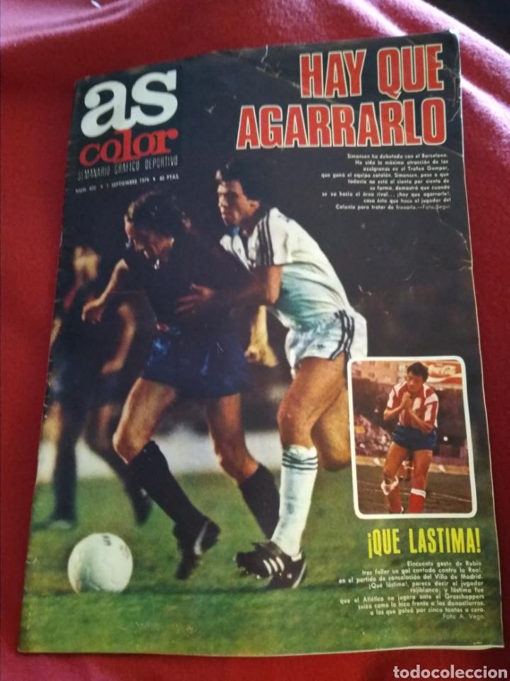 AS COLOR 1979. DEPORTES. 56 PÁGINAS. (Coleccionismo Deportivo - Revistas y Periódicos - As)
