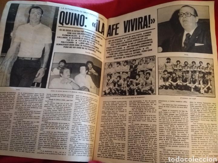 Coleccionismo deportivo: As color. Semanario deportivo 1981. Faltan 4 páginas (27,28,29,30) - Foto 5 - 214352117