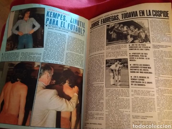 Coleccionismo deportivo: As color. Semanario deportivo 1981. Faltan 4 páginas (27,28,29,30) - Foto 7 - 214352117