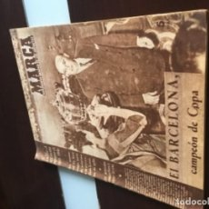Coleccionismo deportivo: ANTIGUO MARCA EL BARCELONA CAMPEÓN DE COPA 1957. Lote 214524323