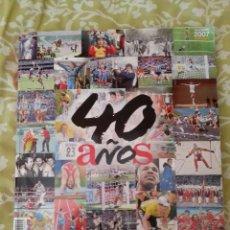 Coleccionismo deportivo: 40 AÑOS DE AS. Lote 214636242