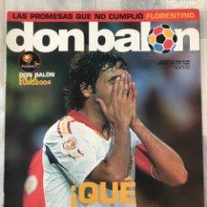 Coleccionismo deportivo: FÚTBOL DON BALÓN 1497 - ESPAÑA EURO 2004 PORTUGAL - EUSEBIO - POSTER BALLACK - MONCHI SEVILLA. Lote 214701547