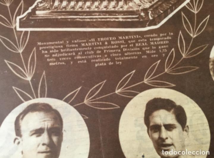 PERIODICO MARCA REAL MADRID CAMPEON 1957 (Coleccionismo Deportivo - Revistas y Periódicos - Marca)