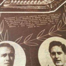 Coleccionismo deportivo: PERIODICO MARCA REAL MADRID CAMPEON 1957. Lote 214844938