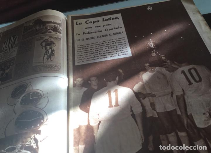 Coleccionismo deportivo: Periodico marca Real madrid campeon 1957 - Foto 3 - 214844938