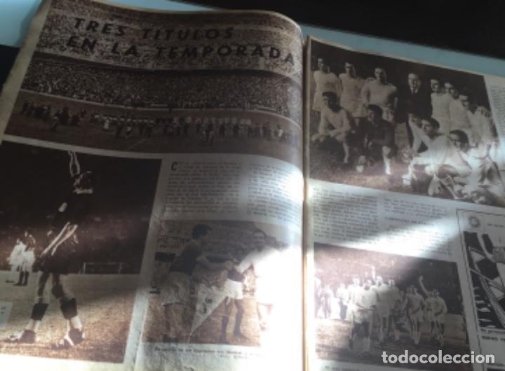 Coleccionismo deportivo: Periodico marca Real madrid campeon 1957 - Foto 4 - 214844938