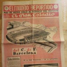 Coleccionismo deportivo: EL MUNDO DEPORTIVO ESPECIAL 26 SEPTIEMBRE 1957 - EL GRAN ESTADIO C.F. BARCELONA. Lote 214888341